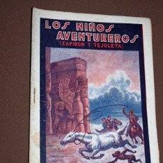 Cómics: LOS NIÑOS AVENTUREROS, ZAPIRÓN Y TEJOLETA N 18. PEDRO NIMIO (JOAN FRANCESC BOSCH PONS). GUERRI, 1923. Lote 211903760