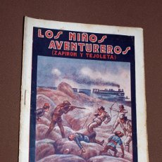 Cómics: LOS NIÑOS AVENTUREROS, ZAPIRÓN Y TEJOLETA N 23. PEDRO NIMIO (JOAN FRANCESC BOSCH PONS). GUERRI, 1923. Lote 211904785