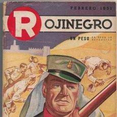 Comics : ROJINEGRO - AÑO XIV - Nº 181 - FEBRERO 1951 - ¡PRESENTENSE LOS SOBREVIVIENTES! POR GEORGES SURDEZ. Lote 212713237