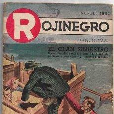 Comics : ROJINEGRO - AÑO XIV - Nº 183 - ABRIL 1951 - LA FOSA QUEDÓ VACIA POR ROBERT EGGERT LEE. Lote 212713341