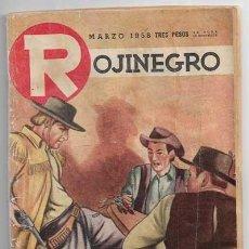Comics : ROJINEGRO - AÑO XX - Nº 265 - MARZO 1958 - CONDENANDOSE CON LA MUERTE POR RICHARD FOX. Lote 213170496