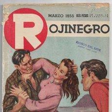 Comics : ROJINEGRO - AÑO XVII - Nº 230 - MARZO 1955 - MASACRE POR CLARK GRAY. Lote 213171812