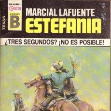 Cómics: BOLSILIBROS PULP, TEXAS, EDICIONES B, Nº 149: ¿TRES SEGUNDOS? NO ES POSIBLE - MARCIAL L. ESTEFANIA. Lote 214009302
