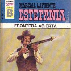 Cómics: BOLSILIBROS PULP, BUFALO, EDICIONES B, Nº 165: FRONTERA ABIERTA - MARCIAL LAFUENTE ESTEFANIA. Lote 214009565