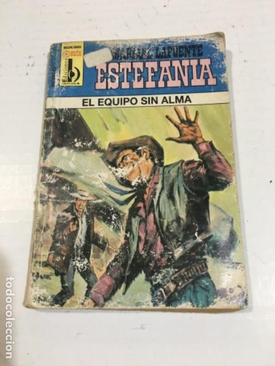 EL EQUIPO SIN ALMA NOVELA DEL OESTE MARCIAL LAFUENTE (Tebeos, Comics y Pulp - Pulp)