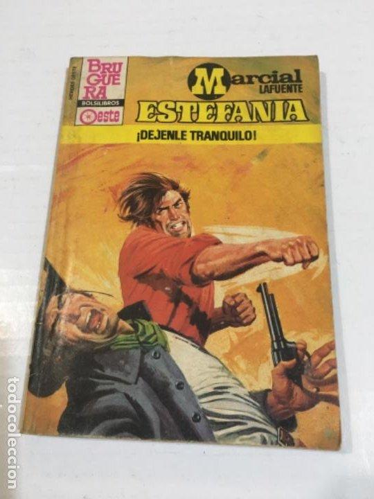 DÉJENLE TRANQUILO NOVELA DEL OESTE MARCIAL LAFUENTE (Tebeos, Comics y Pulp - Pulp)