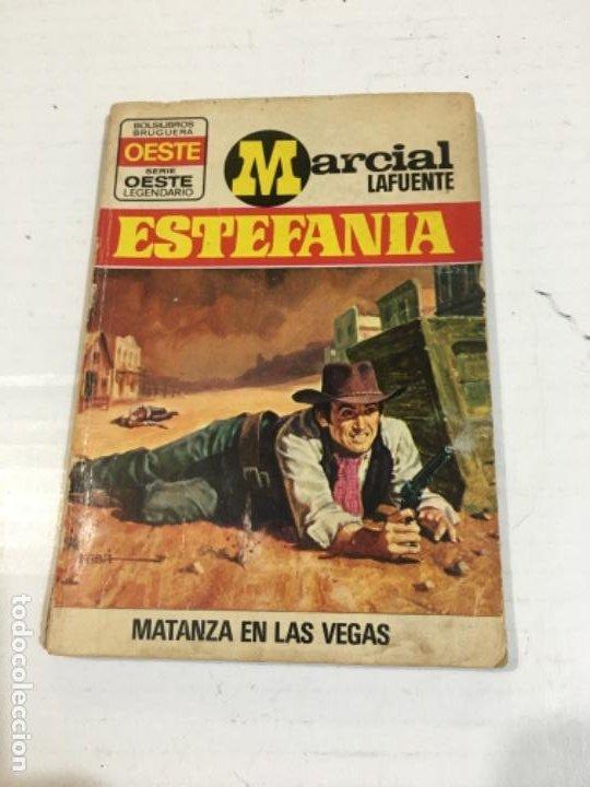 MATANZA EN LAS VEGAS NOVELA DEL OESTE MARCIAL LAFUENTE (Tebeos, Comics y Pulp - Pulp)