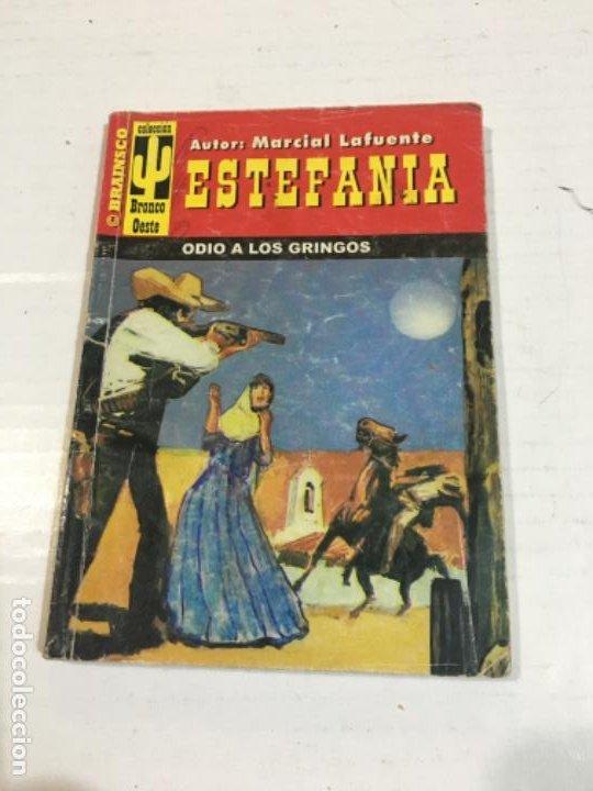 ODIO A LOS GRINGOS NOVELA DEL OESTE MARCIAL LAFUENTE (Tebeos, Comics y Pulp - Pulp)