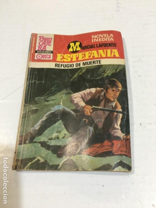 REFUGIO DE MUERTE NOVELA DEL OESTE MARCIAL LAFUENTE (Tebeos, Comics y Pulp - Pulp)