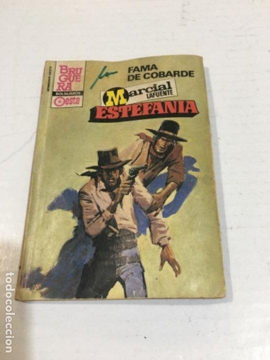 FAMA DE COBARDE NOVELA DEL OESTE MARCIAL LAFUENTE (Tebeos, Comics y Pulp - Pulp)
