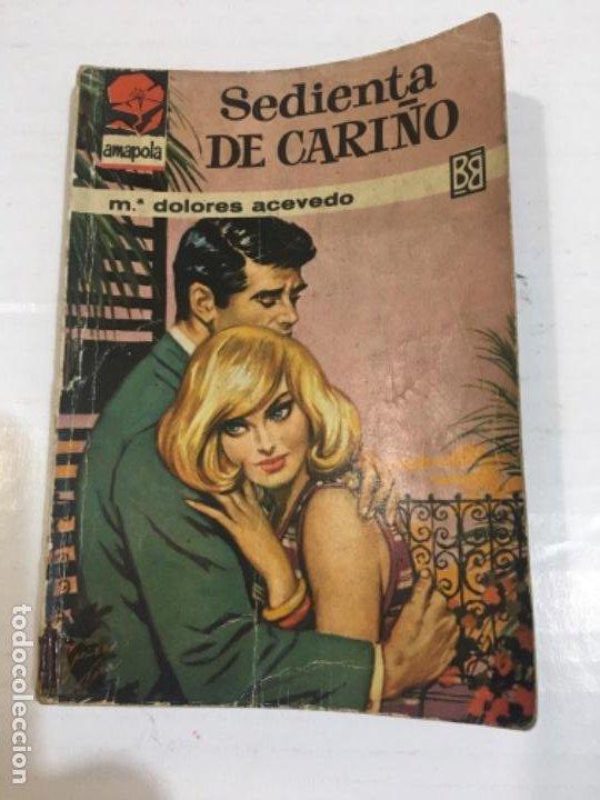 NOVELA AMAPOLA SEDIENTA DE CARIÑO BOLSILIBROS BRUGUERA (Tebeos, Comics y Pulp - Pulp)