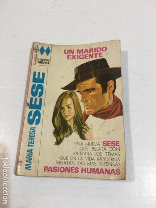 NOVELA COLECCIÓN AMAPOLA UN MARIDO EXIGENTE BOLSILIBROS BRUGUERA (Tebeos, Comics y Pulp - Pulp)