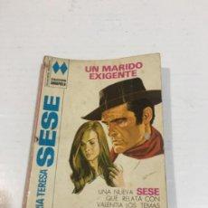 Cómics: NOVELA COLECCIÓN AMAPOLA UN MARIDO EXIGENTE BOLSILIBROS BRUGUERA. Lote 214299430