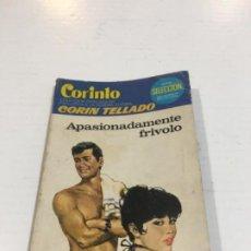 Comics : CORIN TELLADO CORINTO APASIONADAMENTE FRÍVOLO BOLSILIBROS BRUGUERA AMOR. Lote 214299670
