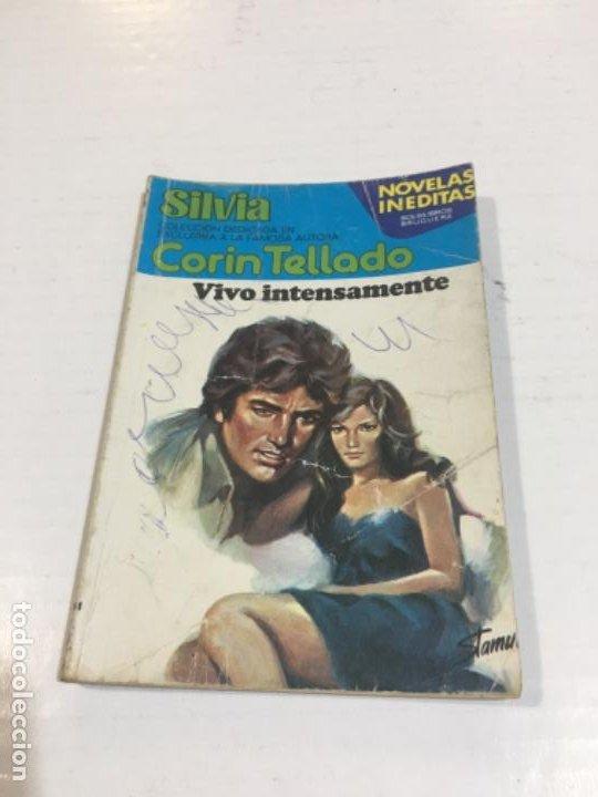 CORIN TELLADO SILVIA VIVO INTENSAMENTE BOLSILIBROS BRUGUERA AMOR (Tebeos, Comics y Pulp - Pulp)