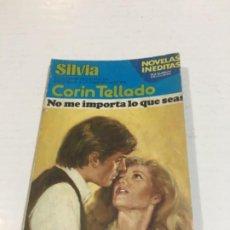 Comics : CORIN TELLADO SILVIA NO ME IMPORTA LO QUE SEAS BOLSILIBROS BRUGUERA AMOR. Lote 214299788