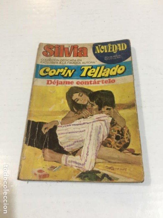 CORIN TELLADO SILVIA DÉJAME CONTÁRTELO BOLSILIBROS BRUGUERA AMOR (Tebeos, Comics y Pulp - Pulp)