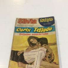 Comics : CORIN TELLADO SILVIA DÉJAME CONTÁRTELO BOLSILIBROS BRUGUERA AMOR. Lote 214299865