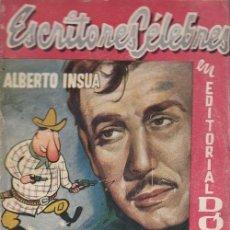 Cómics: ESCRITORES CELEBRES Nº 6 - ALBERTO INSUA - EL CAPITAN MALACENTELLA Y MARAVILLA - EDITORIAL DOLAR. Lote 214709682