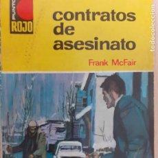 Comics : PUNTO ROJO Nº 277. CONTRATOS DE ASESINATO. FRANK MCFAIR. BRUGUERA 1977. Lote 216814167