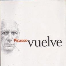 Cómics: PICASSO VUELVE. JUNTA DE ANDALUCÍA-ABD 2003. Lote 218657232