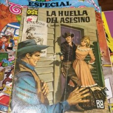Cómics: ASES DEL OESTE - LA HUELLA DEL ASESINO - NÚMERO 220 - BRUGUERA. Lote 218685963