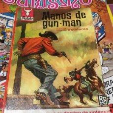 Cómics: COLECCIÓN BÚFALO - MANOS DE GUN-MAN - NÚMERO 462 - BRUGUERA. Lote 218687468