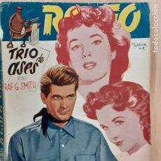 Comics : COLECCIÓN RODEO Nº 134. TRIO DE ASES. RAF G. SMITH. EDITORIAL CIES. Lote 218906501