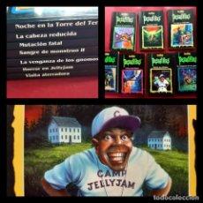 Cómics: LOTE DE 7 PESADILLAS R.L. STINE. EDICIONES PRIMERA PLANA 1998 -EXCELENTE ESTADO. Lote 219322250