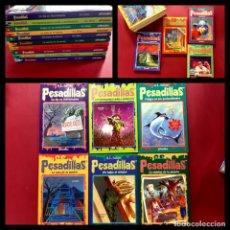 Cómics: LOTE DE LOS 10 PRIMEROS NUMEROS DE PESADILLAS -EL PERIODICO. Lote 219324047