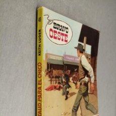 Cómics: UN ATAUD PARA EL CHICO / KEITH LUGER / BRAVO OESTE Nº 40 / BRUGUERA 1ª EDICIÓN 1961. Lote 220827800
