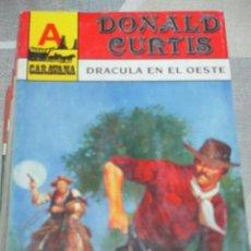 Cómics: DONALD CURTIS, DRACULA EN EL OESTE, ASTRI CARANAVA Nº 38 BOLSILIBRO TERROR VAMPIROS EN EL OESTE. Lote 220855925