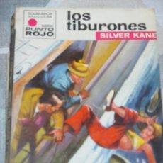 Cómics: SILVER KANE, LOS TIBURONES, PUNTO ROJO Nº 477, BRUGUERA BOLSILIBRO POLICIACO. Lote 220857123