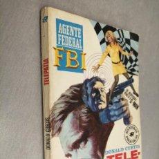 Cómics: TELEPATÍA / DONALD CURTIS / FBI Nº 256 / ED. ROLLÁN. Lote 220919990