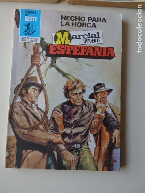 Cómics: Lote 3 Marcial Lafuente Estefanía Grupo canallas Atención vais morir Hecho para horca Oeste Bruguera - Foto 3 - 221281631