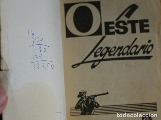 Cómics: Marcial Lafuente Estefanía El juez de Tombstone Oeste legendario 340 Bolsilibros Bruguera año 1974 - Foto 4 - 221359600