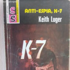 Comics : SERVICIO SECRETO Nº 1445. ANTI-ESPÍA, K-7.LEITH LUGER. BRUGUERA 1967. Lote 221405853