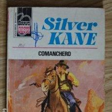 Cómics: COMANCHERO SILVER KANE BRAVO OESTE BOLSILIBROS BRUGUERA Nº 837 AÑO 1977 PULP. Lote 221453762