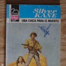 Cómics: UNA CHICA PARA EL MUERTO SILVER KANE BRAVO OESTE BOLSILIBROS BRUGUERA Nº 909 AÑO 1978 PULP. Lote 221454068