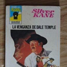 Cómics: LA VENGANZA DE DALE TEMPLE SILVER KANE HÉROES DE LA PRADERA OESTE BOLSILIBROS Nº 555 BRUGUERA 1980. Lote 221455295