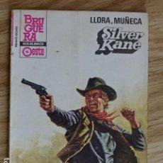 Cómics: LLORA MUÑECA SILVER KANE BRAVO OESTE BOLSILIBROS BRUGUERA Nº 1171 AÑO 1983 PULP. Lote 221460365