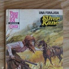 Cómics: UNA FORAJIDA SILVER KANE BRAVO OESTE BOLSILIBROS BRUGUERA Nº 1162 AÑO 1983 PULP. Lote 221460763