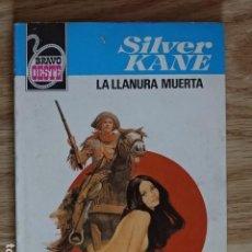 Cómics: LA LLANURA MUERTA SILVER KANE BRAVO OESTE BOLSILIBROS BRUGUERA Nº 1007 AÑO 1980 PULP. Lote 221462568
