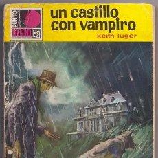 Cómics: UN CASTILLO CON VAMPIRO (KEITH LUGER) / PUNTO ROJO, 378 - BOLSILIBROS BRUGUERA, 1969. Lote 132614970