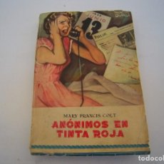 Cómics: ANONIMOS EN TINTA ROJA. Lote 222236901