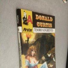 Cómics: TESORO SANGRIENTO / DONALD CURTIS / PIRATAS Nº 9 / ASTRI 1ª EDICIÓN 2003. Lote 222414996