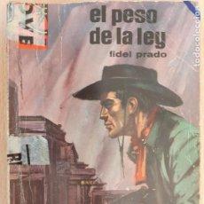 Cómics: CALIFORNIA Nº 519. EL PESO DE LA LEY. FIDEL PRADO. BRUGUERA 1966. Lote 222596436