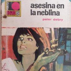 Cómics: PUNTO ROJO Nº 401. ASESINA EN LA NIEBLA. PETER DEBRY. BRUGUERA 1969. Lote 222596692