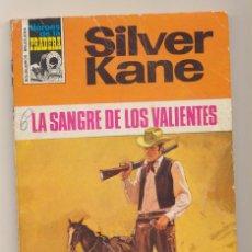 Comics: HÉROES DE LA PRADERA Nº 181. SILVER KANE. LA SANGRE DE LOS VALIENTES. BRUGUERA 1973. Lote 223398902