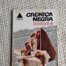 Cómics: CRÓNICA NEGRA. DOSSIER 4. LA FAMILIA MANSON Y OTROS GRANDES SUCESOS. -ED. BRUGUERA - TERROR. Lote 224662926